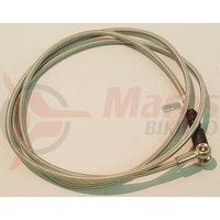 Furtun frana hidraulica metal Shimano SM-Hose M755 1350 mm banjo 90 grade