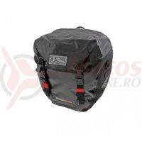 Geanta portbagaj spate Montreal Waterproof 2x20litri neagra