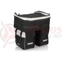 Geanta portbagaj XLC triple bag Traveller BA-S68 black/anthracite approx. 58 ltr
