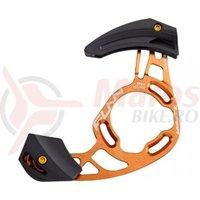 Ghidaj lant Funn Zippa AM/Enduro fixare ISCG-05/ adaptor BB pt.32-38T portocaliu anodizat/negru