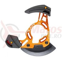 Ghidaj lant Funn Zippa DH fixare ISCG-05 pt.32-38T portocaliu anodizat/negru