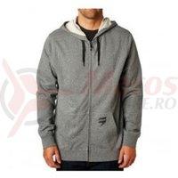 Hanorac Fox 3Lue Label Zip Fleece htr graphite
