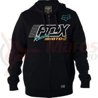 Hanorac Fox Flection Zip Fleece black