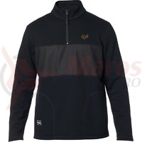 Hanorac Heathen Zip Fleece black