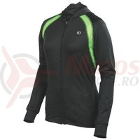 Hanorac select Aurora lightweight femei Pearl Izumi ride/run green flash