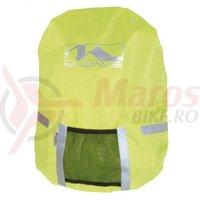 Husa impermeabila M-Wave pentru rucsac galben neon