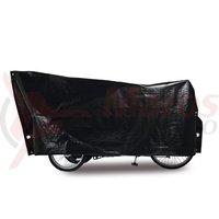 Husa pentru tricicleta adulti 295x120 cm cu capse si snur neagra