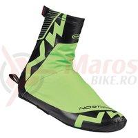 Husa protectie pantof road Northwave Acqua Summer verde fluo/negru