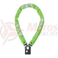 Incuietoare lant AXA Clinch 85x6 Green soft