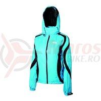 Jacheta de ploaie Shimano Performance pentru femei albastru/negru