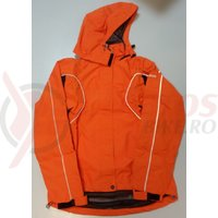 Jacheta de ploaie Shimano Performance pentru femei portocaliu/negru
