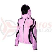 Jacheta de ploaie Shimano Performance pentru femei roz/negru