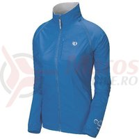 Jacheta elite barrier convertible femei Pearl Izumi ride/run blue white