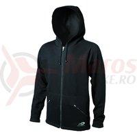Jacheta Shimano indoor pentru femei cu gluga negru