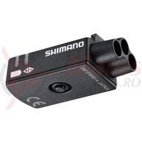 Jonctiune Shimano Dura Ace DI2 SM-EW90-A Junction-A pentru ghidon standard (E-Tube Port X3)