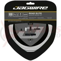 Kit bowden frana Jagwire Elite Race (SCK051) CSX / STS-EL, alb, 2200mm (include toate piesele necesare montarii)
