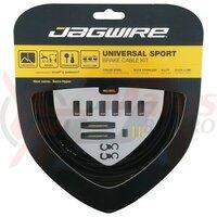 Kit bowden frana Jagwire Universal Race/ MTB (UCK400) diam.5mm CGX-SL, negru, 3000mm (include toate piesele necesare montarii)