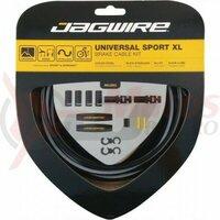 Kit bowden frana Jagwire Universal Sport XL (UCK800) diam.5mm CGX-SL, negru, 3500mm (include toate piesele necesare montarii)AM