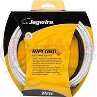 Kit bowden frana MTB Jagwire Ripcord Pro diametru 5mm alb 'substrat de chevlar' 3000mm