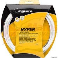 Kit bowden frana Race/ MTB Jagwire Hyper diam.5mm CGX alba 3000mm