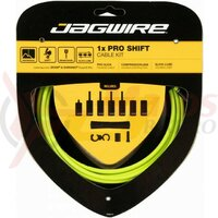 Kit bowden schimbator Jagwire 1 x Pro (PCK552) diam.4mm Lex-SL / STS-PS, verde, 2200mm (include toate piesele necesare montarii) AM
