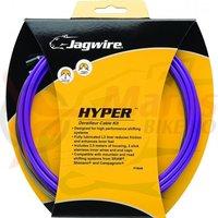Kit bowden schimbator Race/ MTB Jagwire Hyper diam. 4mm Lex purpuriu 2500mm