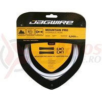 Kit conducta hidraulica Jagwire Mountain Pro (HBK402) Kevlar alb 3000mm