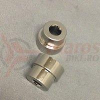 Kit mounting hardware Fox 2 piece 6mm mounting width 0.660 REF 213-26-018-F (12)