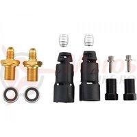 Kit racord conducta hidraulica Jagwire Pro (HFA312) pentru Shimano XTR