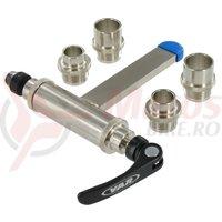 Kit update pentru suport universal pivotant pentru furci FH-92700 (suporta axuri de 9/15/20mm) Var Tools