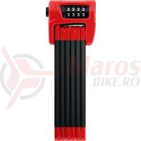 Lacat bicicleta Abus Bordo Combo 6100/90 rosu SH
