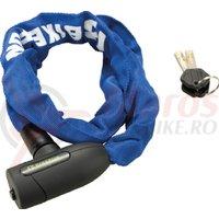 Lacat Bikefun CityChain 2 lant 5x850mm albastru