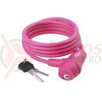 Lacat cu cheie 8x1500mm roz S8.15S M-Wave