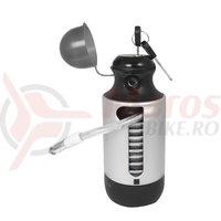 Lacat Force Bottle Lock 150cm/7 mm argintiu