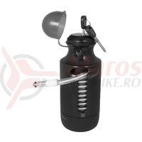 Lacat Force Bottle Lock 150cm/7 mm negru