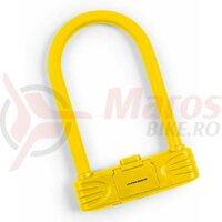 Lacat U-Lock cu cifru Kross KZU 250 Galben