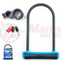 Lacat U-Lock Onguard Neon 8153 115x230 mm negru/albastru