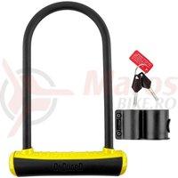 Lacat U-Lock Onguard Neon 8153 115x230 mm negru/galben