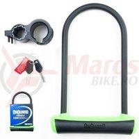 Lacat U-Lock Onguard Neon 8153 115x230 mm negru/verde