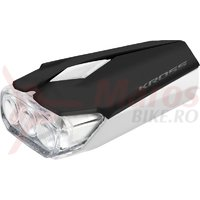 Lampa fata Kross Lumi II 3 LED 2 functii black