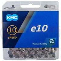 Lant KMC E10 Silver 10 Viteze 122 zale Ebike argintiu