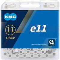 Lant KMC E11 EPT 11 viteze 122 zale Ebike argintiu