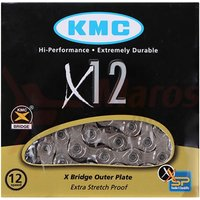 Lant KMC X12-1 Silver 1/2x11/128 126L