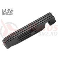 Leviere pentru anvelope PRO 3 buc. negru