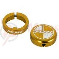Lock ring cu bar ends FUNN COMBAT II laser logo aurii