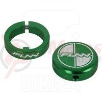 Lock ring cu bar ends FUNN COMBAT II laser logo verzi