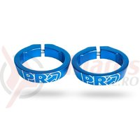 Lock ring PRO anodized alloy blue
