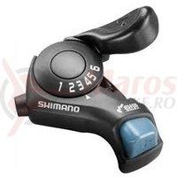 Maneta de schimbator Shimano Tourney SL-TX30-6R dreapta 6v cablu 2050mm