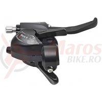 Maneta schimbator/frana Shimano ST-EF41-6R dreapta 6v cablu de schimbator 2050mm 2 degete negru