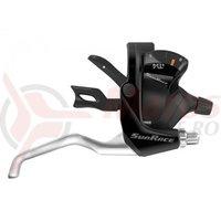 Manete schimbator/frana Sunrace STM400 Trigger 3x7 vit negre